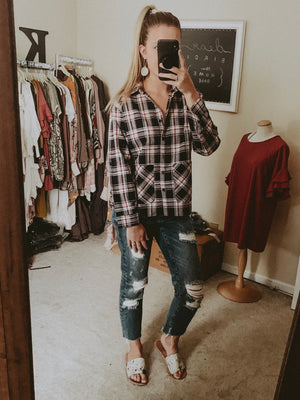 Rhylee Plaid Shirt