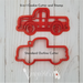 Classic Retro Pickup Truck - Stamp | Also Imprint Cutter