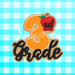 Hand Written Cursive School Class Number - Grades 1st to 8th Options