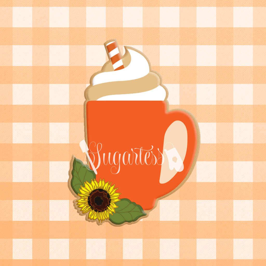 Sunflower Latte Mug