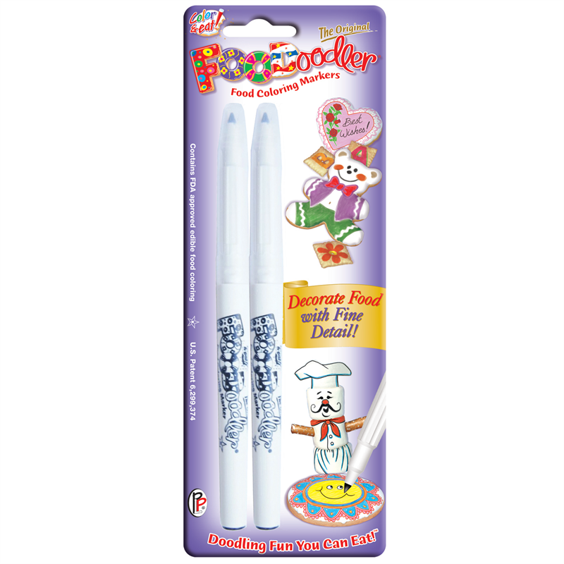 FooDoodler Edible Ink Markers - Packs of 2