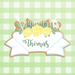 Floral Ribbon Plaque