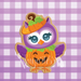 Owl in Pumpkin Costume