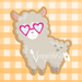 Cool Llama with Sun Glasses
