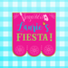 Mexican Fiesta Banner Pennant Plaque