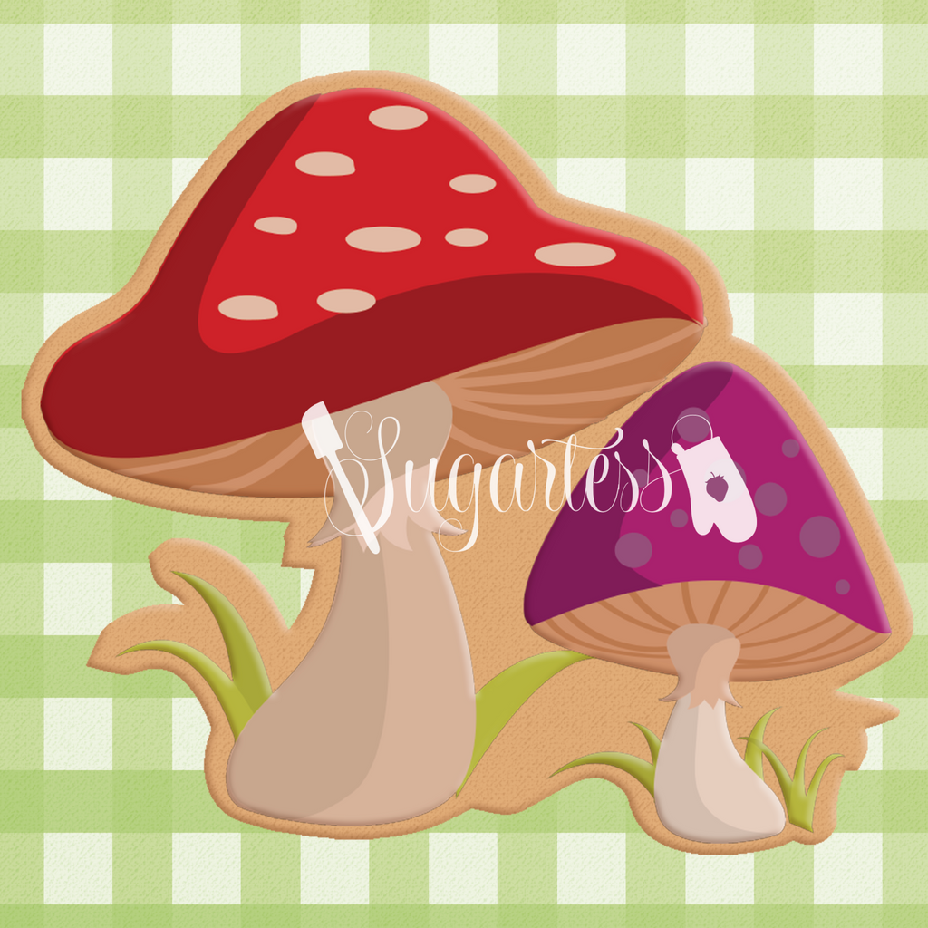 Woodland / Forest Mushrooms #1