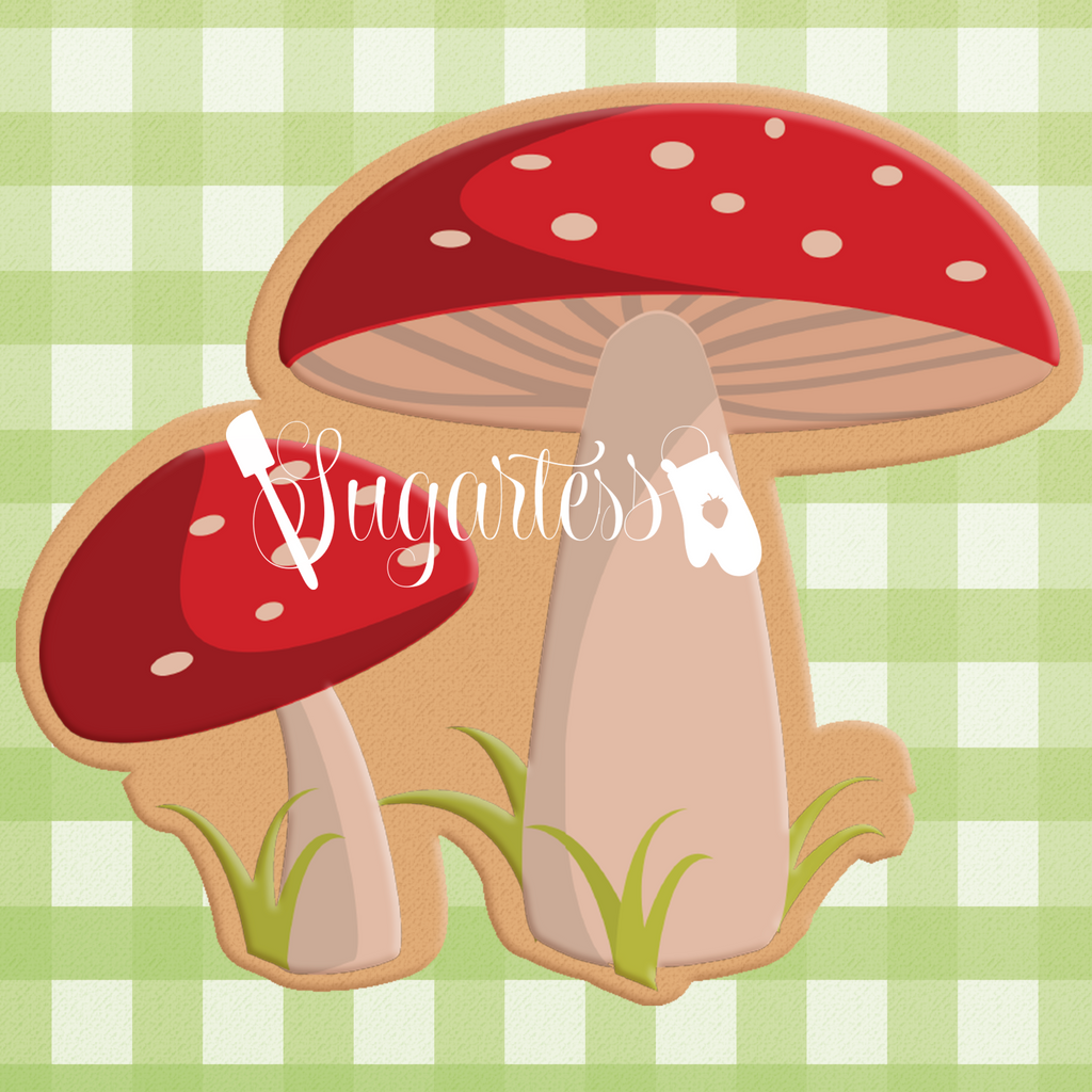 Woodland / Forest Mushrooms #3