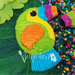 Sugartess fiesta cookie cutter in shape of a toucan bird piñata.