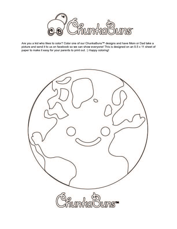 Coloring Pages Chunkabuns