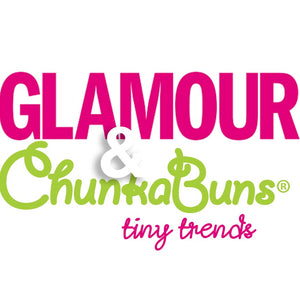 As seen in Glamour Magazine: ChunkaBuns