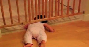 How the HECK did you get out of your crib?!