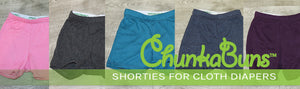 Shorts for Cloth Diapers!