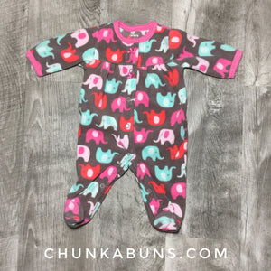 Thrifty Newborn Fleece Sleeper