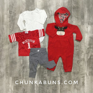 Red Jersey Set 12M