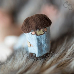 Monkey Rock-a-Thigh Baby Socks