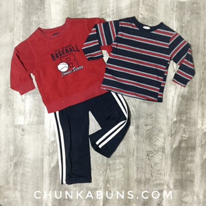 Baseball Play Set 3T