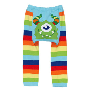 Rainbow Monster Doodle Pants