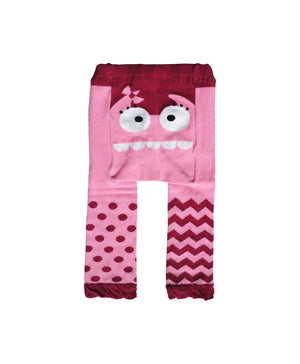 Pink Monster Doodle Pants