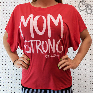 Mom Strong Flowy Top