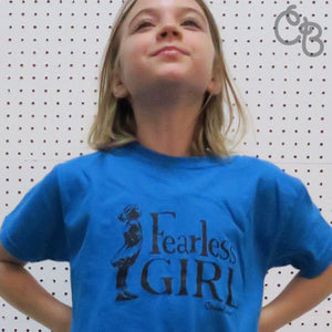 Fearless Girl Tee - YOUTH