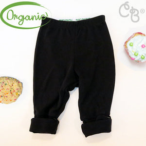 Organic Cotton Posh Pant -  Raven Black