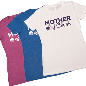 Mother of Chunk Fitted Women's Crew Shirt