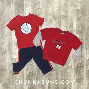 Baseball Set 3 and 4T