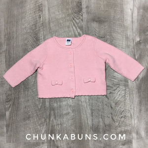 Janie and Jack Pink Sweater size 0/3M