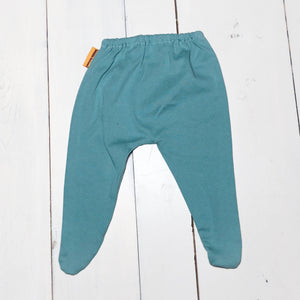 Smokey Teal Wobble Bottoms