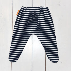 Navy Stripe Wobble Bottoms