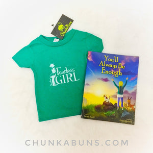 You'll Always Be Enough &  Fearless Girl Tee - Gift set (infant/toddler)