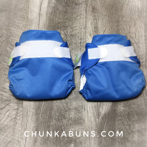 BumGenius Newborn diapers - preowned Stellar