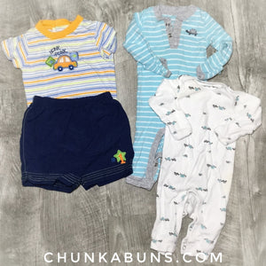 Play Clothes Set size NB/3M