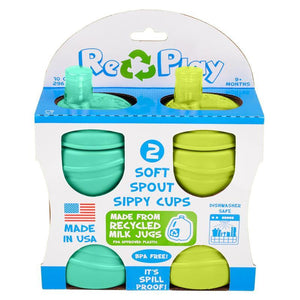 Re-Play Soft Spout Cups Packaged Set of 2