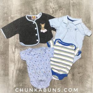 Play Clothes Set size NB/0/3M