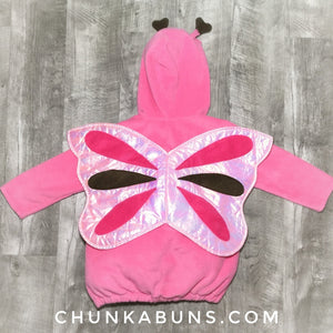 Pink ButterFly Costume 4T