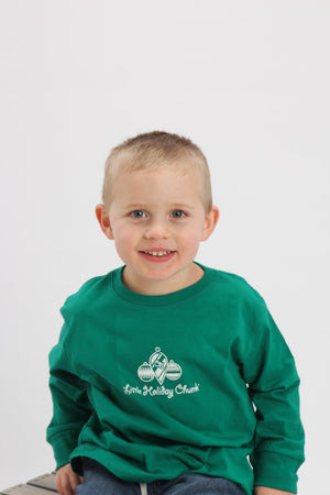 Holiday Chunk Toddler Long Sleeve Tee
