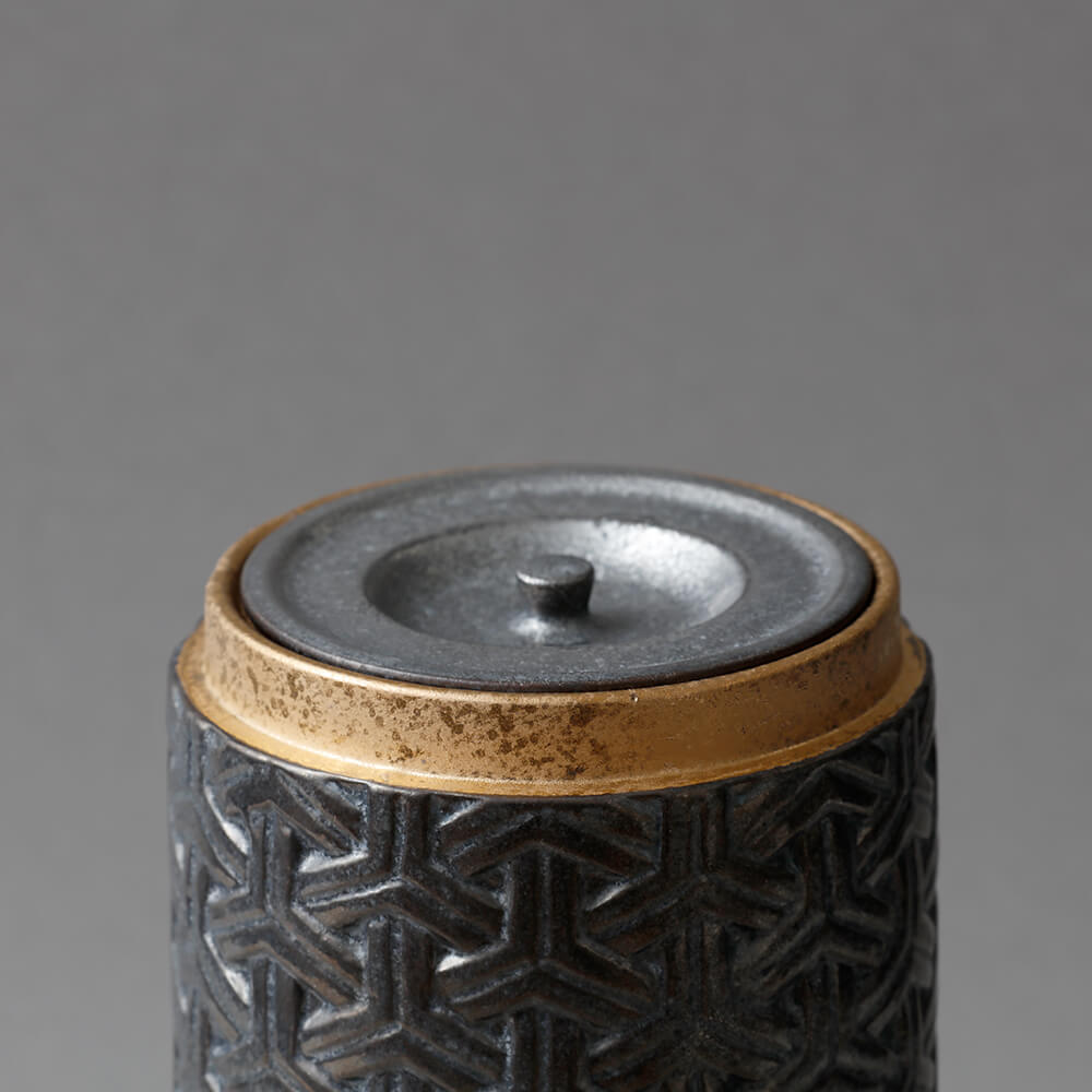 Bishamon Canister silver M
