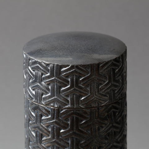 Bishamon Canister silver S