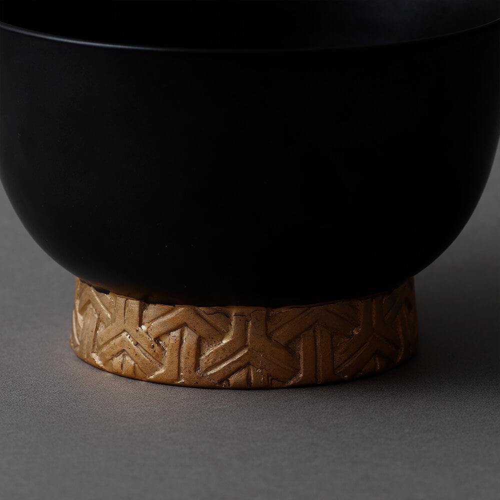 Bishamon bowl Black