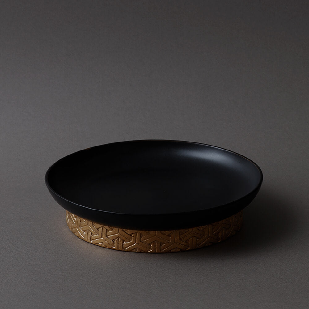 Bishamon plate Black M