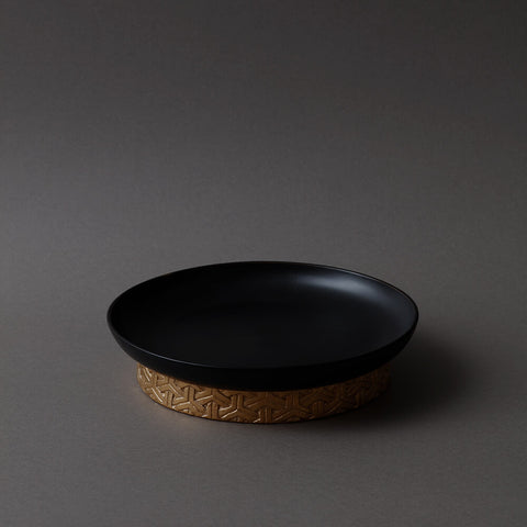 Bishamon plate Black S