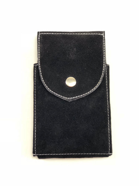 Black Suede Phone Case