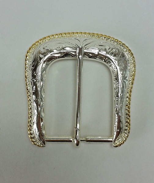 Forest Buckle Brass Plate