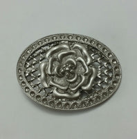 Feeligree Rose Antique Plate