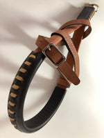 Muzzle Light Tan Color with Silver Buckle