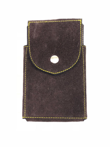 Brown Suede Phone Case