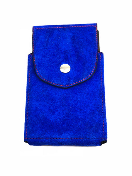 Blue Suede Phone Case