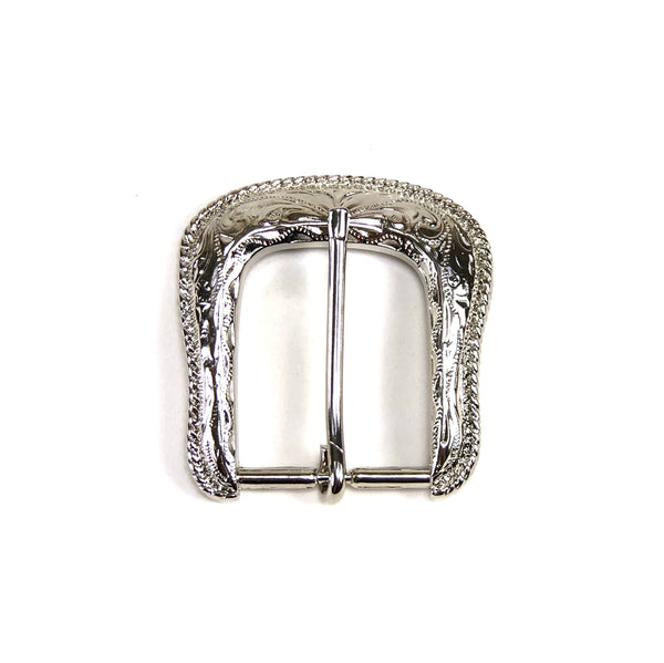 Forest Buckle Nickel Plate Finish