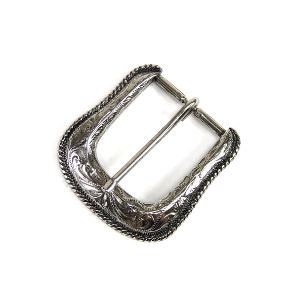Forest Buckle Antique Nickel Finish